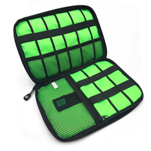 Cable Organizer System Kit Case USB Data Cable Earphone Wire Pen Power Bank Storage Bags Digital Gadget Devices Travel