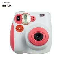 Genuine Fuji Fujifilm Instax Mini 7S Camera Instant Printing Film Snapshot Shooting Photo Pink Blue Camera