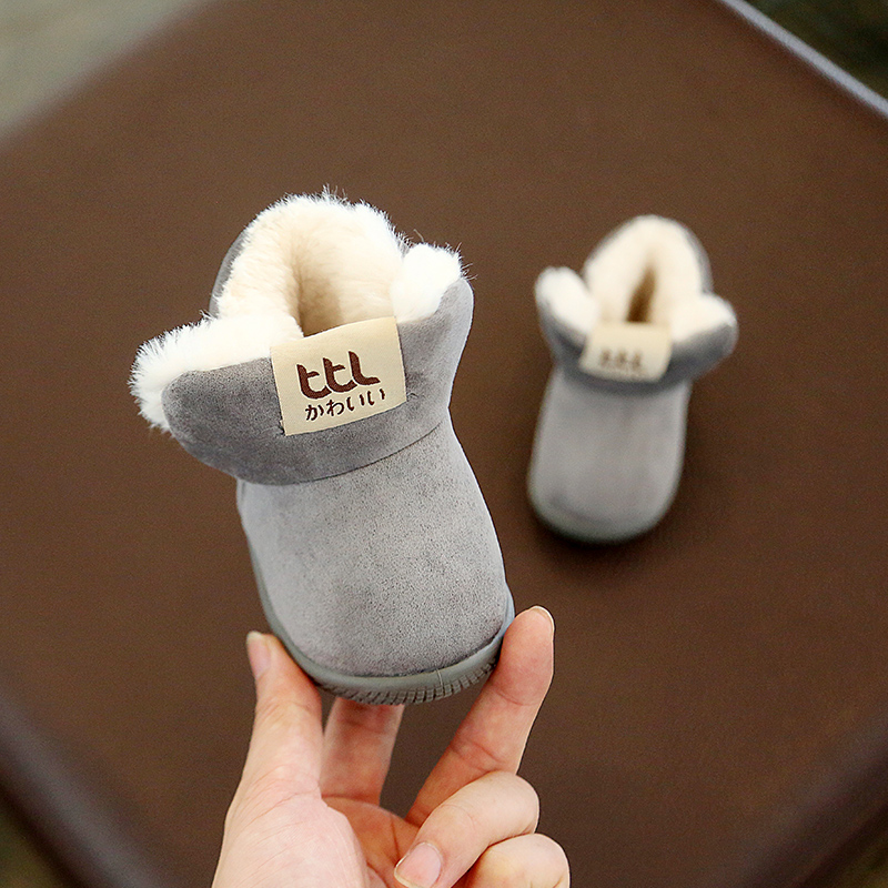 Winter Warm Elastic Band Snow Boots 4