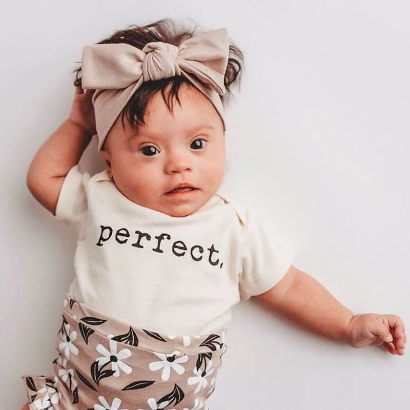 Boys Girls Short Sleeve Perfect Printed Romper Fashion Baby Clothes