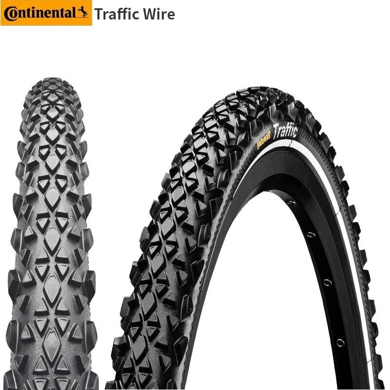 """Spor ve Eğlence'ten Bisiklet Lastikleri'de Continental trafik şehir Jungle MTB lastik 26 """"x1.9 26"""" x2.1 lastik dağ bisiklet lastiği bisiklet lastiği title="""