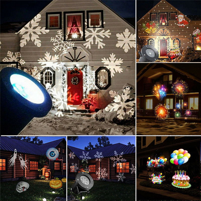 Outdoor Snowflake Led Stage Snow Lights