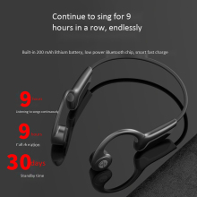 Z8PRO Wireless Bluetooth 5.0 Headphones Bone Conduction Earphone Outdoor Sport Headset