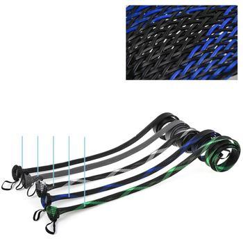 Amazing 1.9m Net Fishing Rod Protective Cover With Lanyard Protective Rod Set Fishing 35mm Fishing Rods cb5feb1b7314637725a2e7: Black|Blue|Green|Light Grey|White