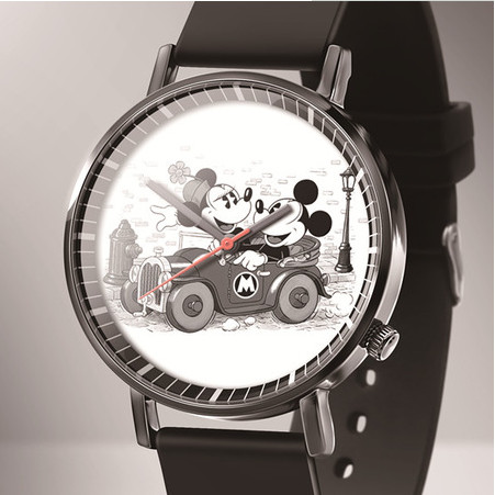Zegarek Damski Hot New Fashion Brand Mickey Cartoon Watches Girl Boy Casual Leather Quartz Watch Children's Favorite Gift Clock