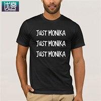 Футболка Just Monika, одежда, популярная футболка, футболки с круглым вырезом из 100% хлопка, летние футболки, хлопковая Футболка с круглым вырезом,...