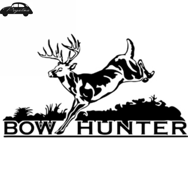Hunt Buck Decal Bow Hunter Sticker Hunting Club Car Window Vinyl Decal Funny Poster Motorcycle Wall Stickers Aliexpress