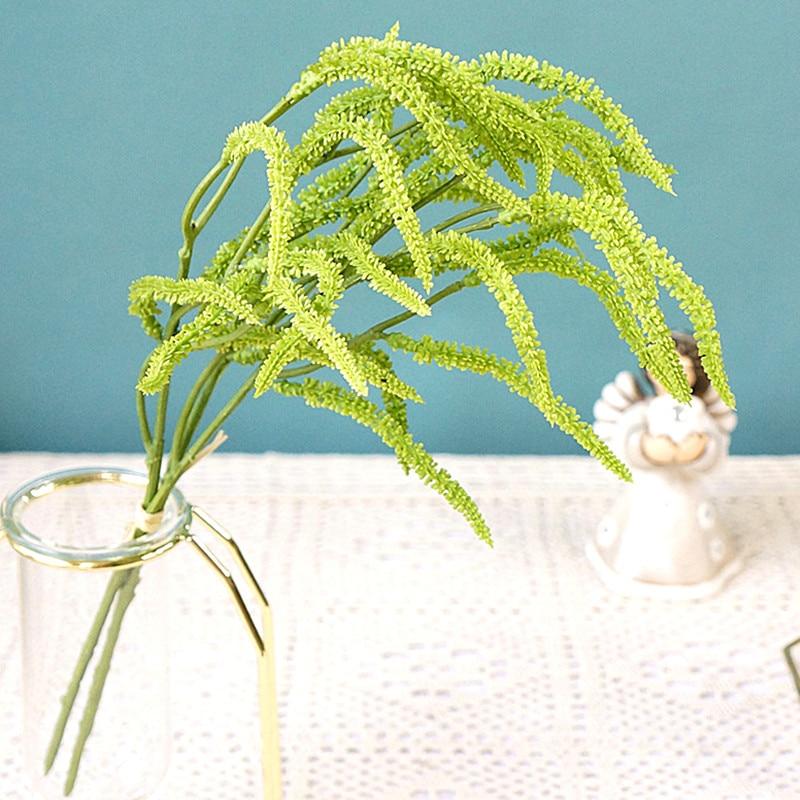 3 шт/комплект искусственные растения для дома украшения Lover's слезы трава поддельные растения зелени Инди номер Декор растительные