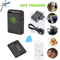 BOJECHER TK102B Vehicle Real Time GSM GPRS GPS Tracker Global Locator Anti-Lost Recording Remotes control Over Speed Alarm