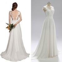 Classic lace chiffon wedding party bridal wedding dress bride gown real photo factory cheap price