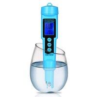 Professional 3 in 1 pH/ORP/TEMP Meter Water Detector Multi parameter Digital LCD Tri Meter Monitor Water Quality Tester