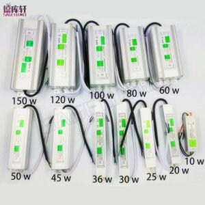 Image 1 - Adaptateur dalimentation AC110 260V à DC12V/24V, 10W 150W, transformateur Driver étanche Led, adaptateur dalimentation électronique IP68, éclairage dextérieur led