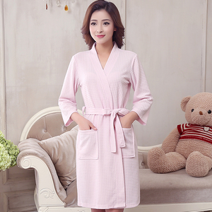 Image 4 - Roupão feminino kimono de absorção de água, roupão feminino sensual moderno de banho, vestidos de dama de honra para amantes