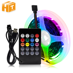 RGB Changeable USB LED Strip 5050 DIY Flexible LED Light Bluetooth Control / Music Control LED TV Background Lighting.