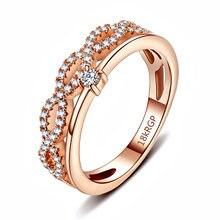 Модные мужские и женские кольца с буквами в европейском американском