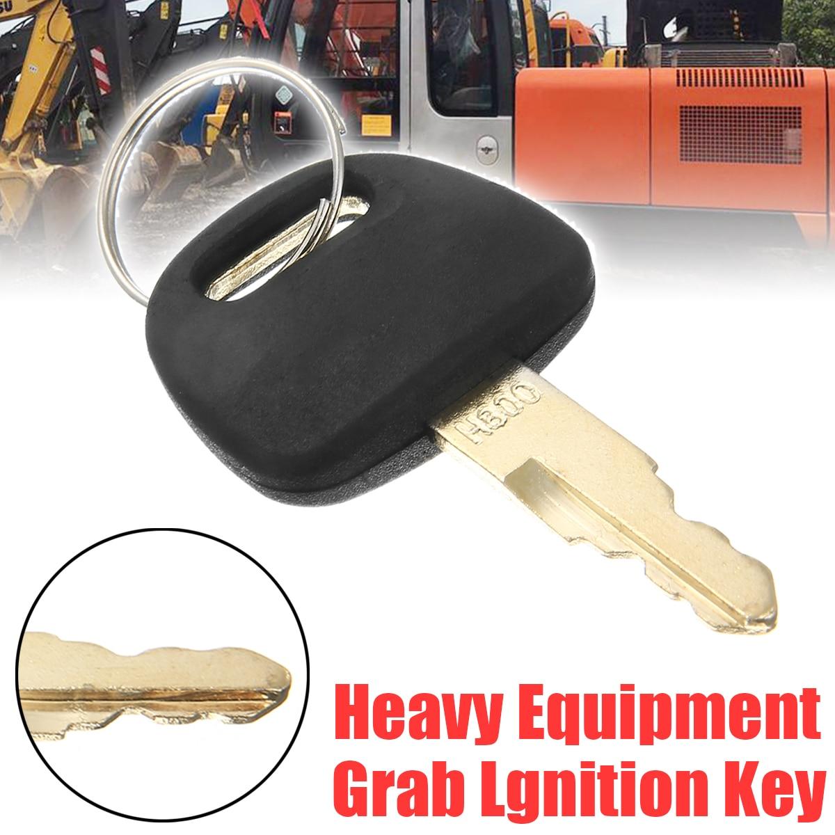 1pc Excavator Accessories Hitachi ZAX Key Durable Newest Heavy Equipment Grab Lgnition Key For Hitachi H800 ZAX Excavator