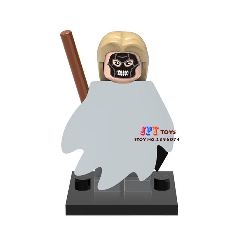 Single Sale Superhero Death Eater Building Blocks Model Bricks Toys For Children Action Figures Harry