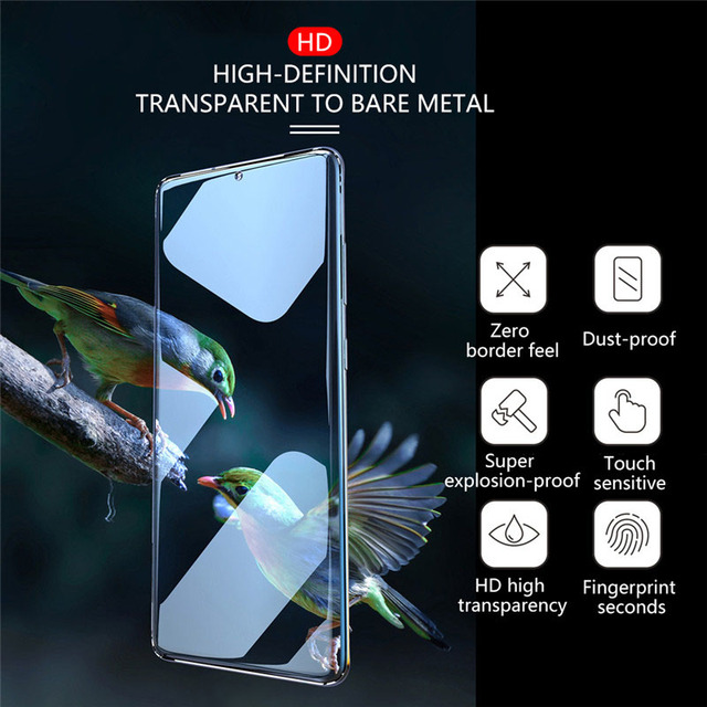 Tempered Glass For Samsung Galaxy S10 Plus Glass S9 S8 Screen Protector S20 S21 S10e 5G S 9 8 10 e Note 20 Ultra Note 8 10 9 UV 6