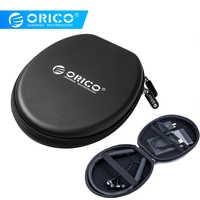 ORICO Waterproof Earphone Bag Bluetooth Earphone Case Double Lining For Bluetooth Earphone USB Cable Power bank USB charger
