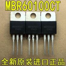 10 PCS MBR60100CT MBR60100 PARA-220 60A 100V