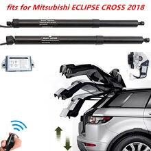 Nadające się do Mitsubishi ECLIPSE krzyż akcesoria inteligentny elektryczny tylnej klapy zaktualizowane bagażnik samochodowy obsługuje rod ogon przełącznik do drzwi zestaw