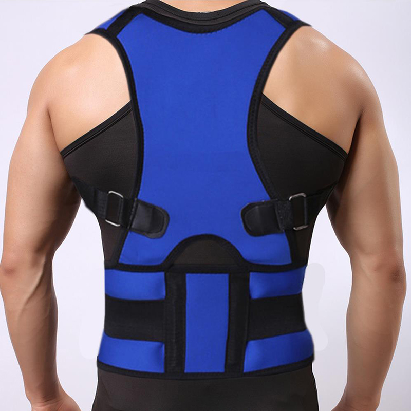 Posture Corrector Adjustable Shoulder <font><b>Humpback</b></font> Lower Back Support Lumbar Orthopedic Corset Back Straighten Posture Corset Unisex image