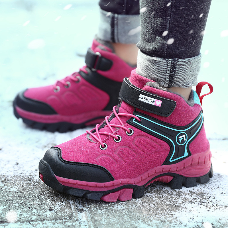 Girl Sneaker Anti-Slip Winter Boots