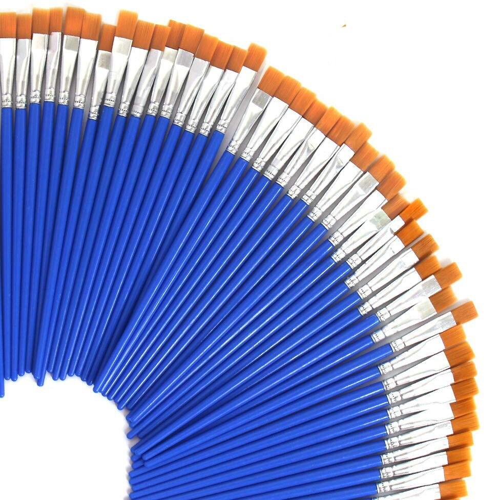 20 шт маленькие тонкие нейлоновые кисти для рисования акварельных кистей, кисти для рисования, ручки для художников
