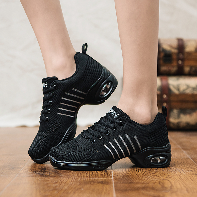 Explosion Models Large Size Women's Sneakers Air Cushion Woven Vulcanize Shoes 2019 Spring Breatable Casual Shoes Female