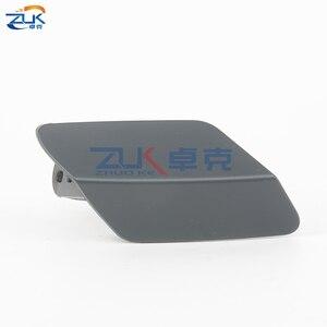 Image 3 - Zuk for bmw 3 시리즈 m 공기 역학 패키지 헤드 라이트 와셔 노즐 커버 f30 f31 f35 m 용 와셔 캡 320 323 325 328 330 335