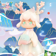 Blind-Box-Toys Figures Guess-Bag Mountain Miao Anime Cute And Ciega Model Caja Birthday-Gift