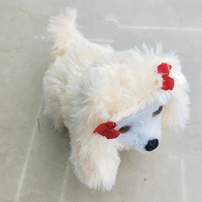 Creative Pet Children Play Electric Forward Dao Tui Gou Hair Juxtaposition Puppy Stall Supply Of Goods