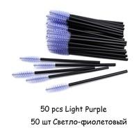 50pcs Light Purple