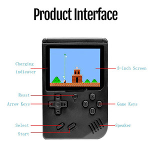 Image 3 - 800 IN 1 Retro Video Game Console Handheld Game Portable Pocket Game Console Mini Handheld Player for Kids Gift