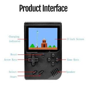 Image 3 - Vídeo game retrô portátil 800 em 1, console manual para jogo de console de bolso e portátil, mini jogador manual para presentear crianças