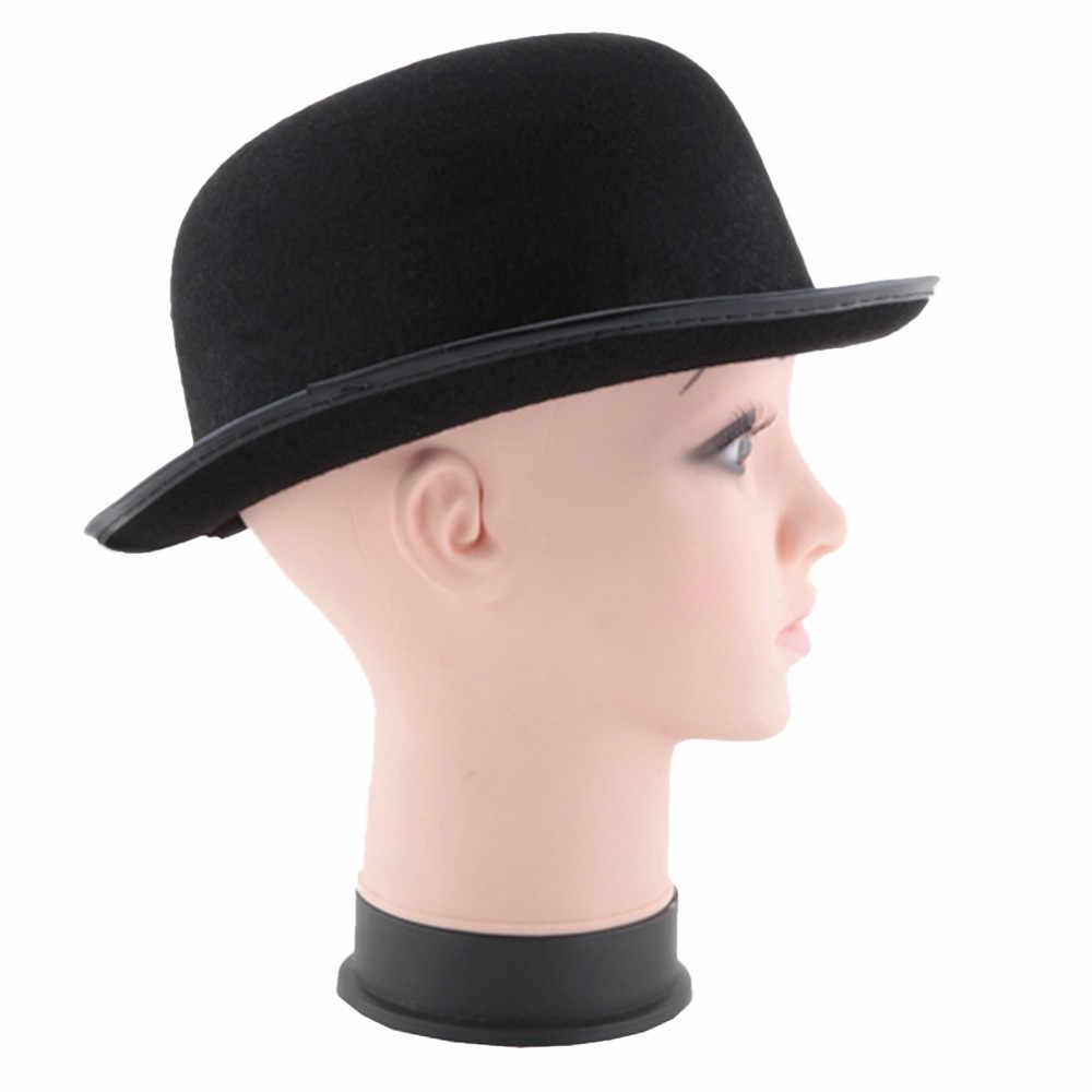 Black New Men And Women Fun Fashion Hat Halloween Magician Magic Hat Jazz Hat