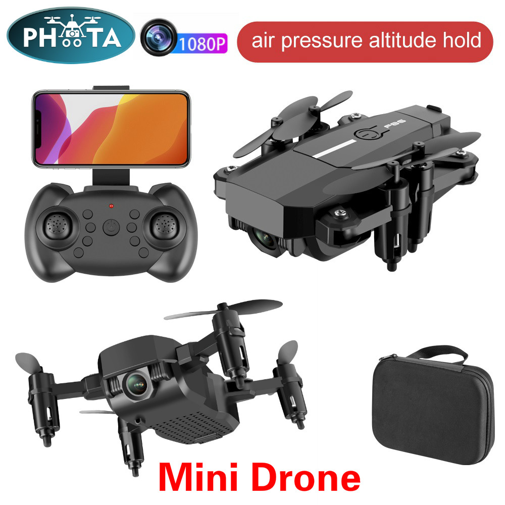 2020 NEW F86 Mini Drone 4K HD Camera 1080P Wifi FPV Foldable Drones Hight Hold Mode RC Quadcopters Gravity Sensor 360 roll Dron
