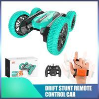 Dual Modus RC Stunt Auto Gesture Sensing 2,4G Fernbedienung Licht Musik Fahrzeug Auto Modelle Weihnachten Weihnachten Geburtstag Geschenke dropship