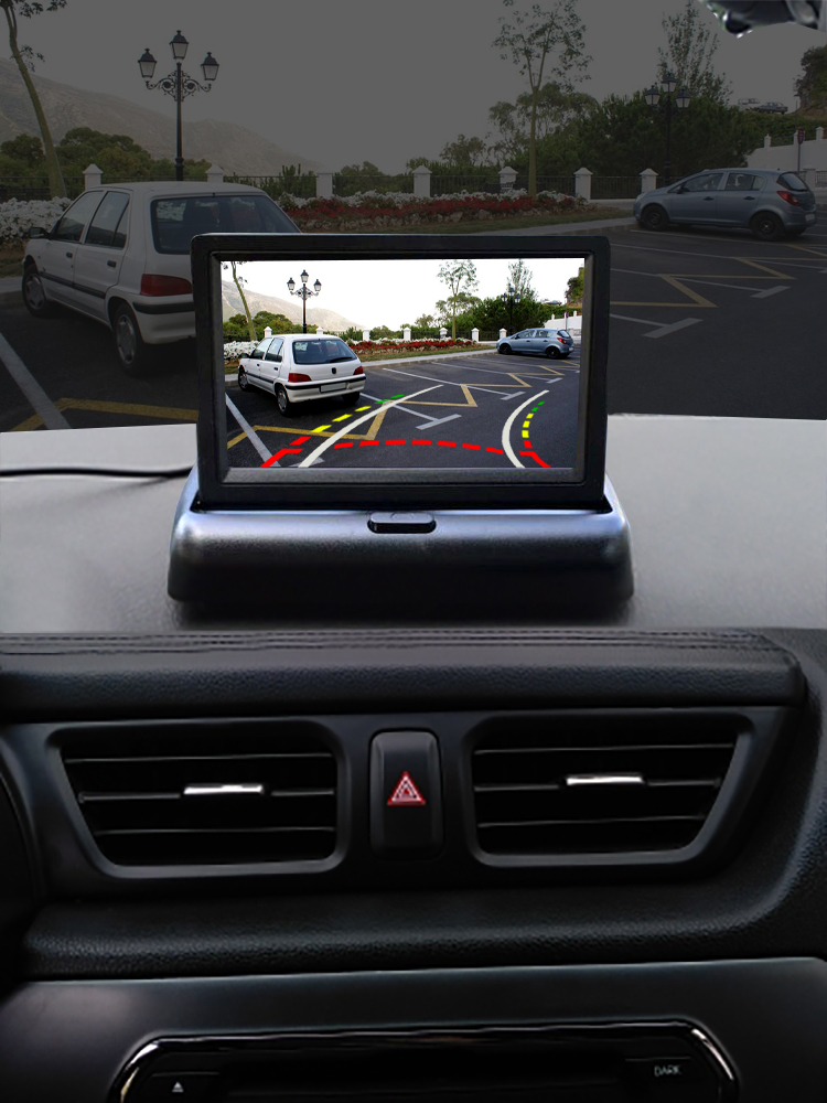 Dynamic Camera Monitor Parking-Reverse-Monitor-System Reverse-Paking TFT for Lcd-Car