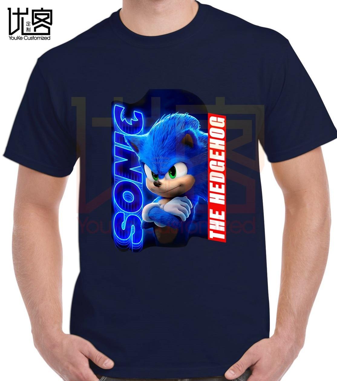 New Sonic The Hedgehog Movie 2020 Unisex T Shirt Logo Design