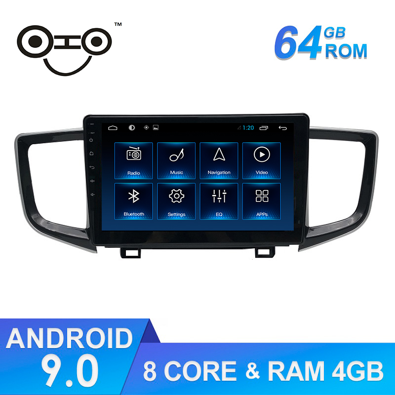 <font><b>Pilot</b></font> Android 9.0 Octa Core 4+64G <font><b>Gps</b></font> Navigation Car Stereo Radio <font><b>For</b></font> 2016-2018 <font><b>Honda</b></font> <font><b>Pilot</b></font> image
