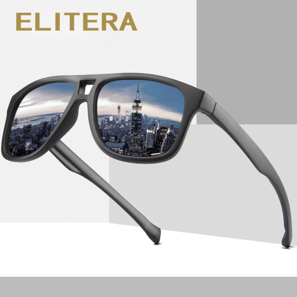 ELITERA Brand Fashion Unisex Sun Glasses Polarized Coating Mirror Driving Sunglasses Male Eyewear For Men/Women