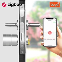 Smart-Lock Core-Cylinder Tuya Security Intelligent with Keys-Work Encryption Zigbee