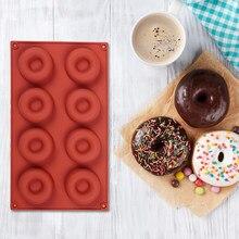 Beignets Silicone beignet décor moule cuisine cuisson moule Dessert Bagels Muffins antiadhésif mignon moule décoration outils