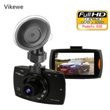 Vikewe Car DVR Camera G30 Full HD 1080P 140 Degree Dashcam Video Registrars for Cars Night Vision G-Sensor Dash Cam все цены