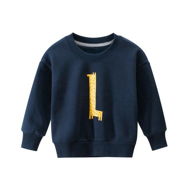 27kid Sweatshirts Baby Boys Girls Cotton Kids  Children Clothes Long Sleeve Sweatshirts Toddler Sportswear Child's Clothing 6