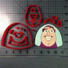 Toy story cookie cutter set