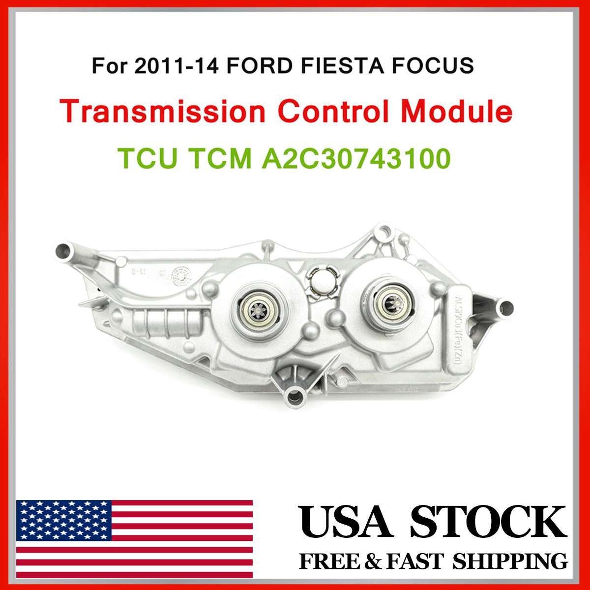 Transmission Control Module For FORDd FOCUS 2011-2014 Transmission Control Module TCU TCM A2C30743100 Control Module TCU TCM