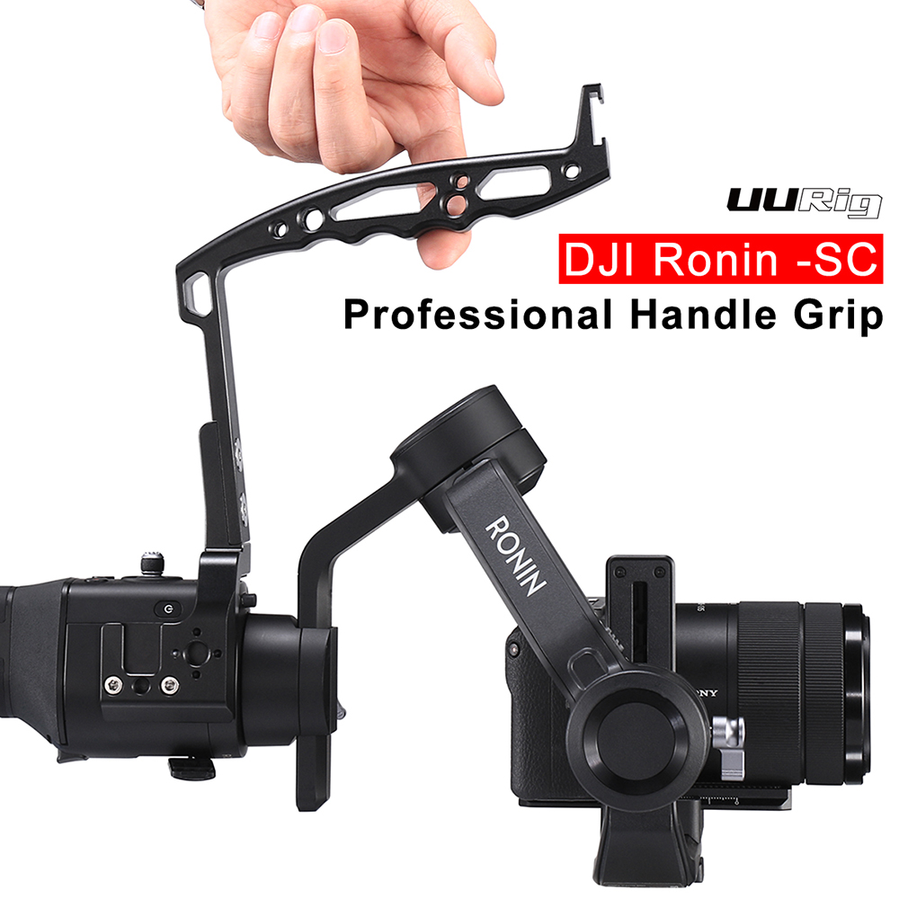 Ronin S Handle Sling Grip Mounting Extension Arm For DJI Ronin SC/Ronin S Zhiyun Crane 2/Crane Plus Gimbal Accessory