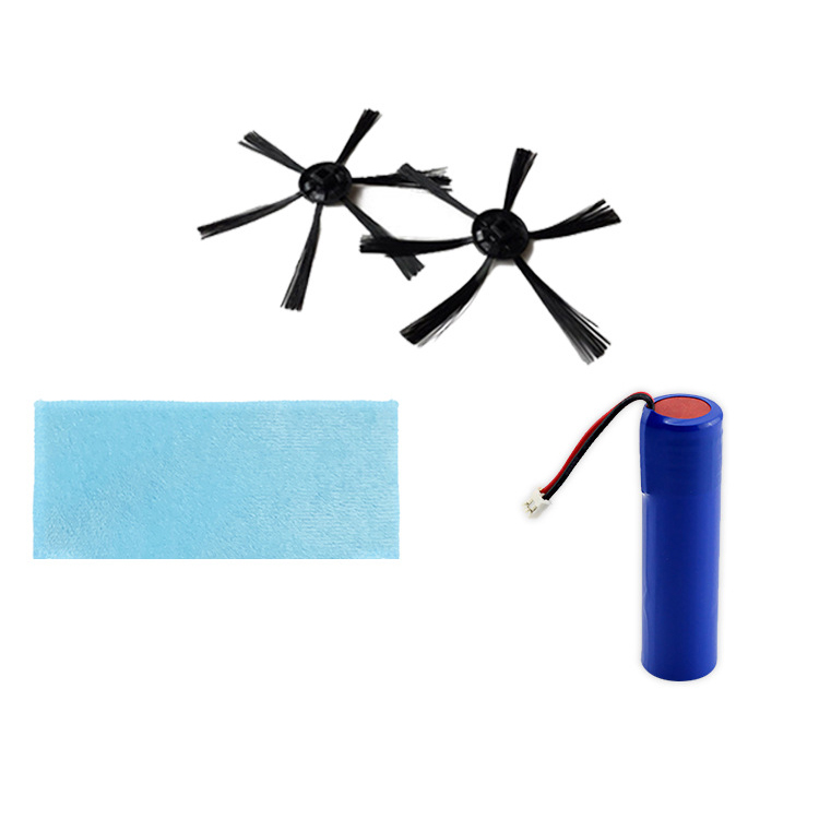 Suitable For Bowai Robot Vacuum Cleaner Replacement Parts Extra Brush/Mop/Battery Accessories Set